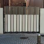 蛇腹構造のゲート
